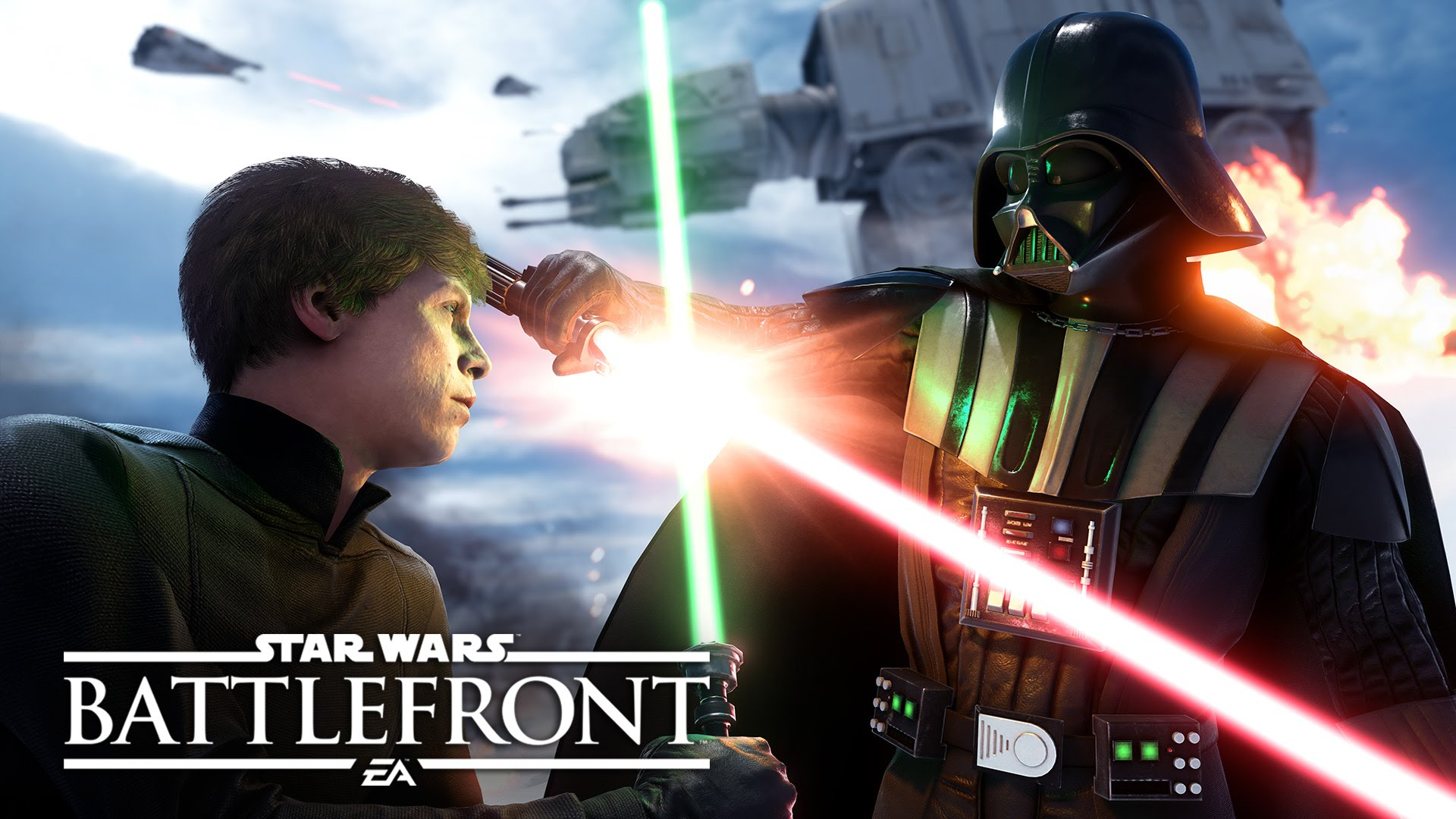 "Star Wars Battlefront ""Walker Assault"" Gameplay Footage"